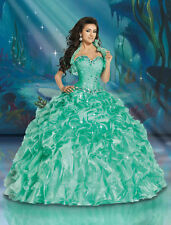 Quinceanera Dresses for 15 Years Girl Formal Prom Ball Gown Pageant Dresses 2016