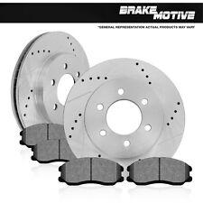 Front Brake Rotors and Metallic Pads 2004 2005 2006 2007 2008 2009 CADILLAC SRX