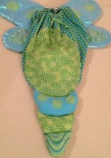Halloween Costume Butterfly 0-12 Months Up To 25 Pounds Green Blue