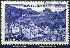 ANDORRE FRANCAIS N° 153 AVEC OBLITERATION
