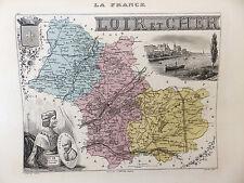 LA FRANCE ET SES COLONIES DEPARTEMENT DU LOIR ET CHER VOIR DESCRIPTIF