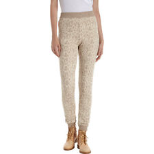 A.P.C INTARSIA BEIGE KNIT SWEATPANTS LEGGINGS SMALL