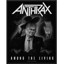 OFFICIAL LICENSED - ANTHRAX - AMONG THE LIVING SEW ON PATCH THRASH METAL