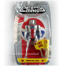 "~ Pepsi - PEPSIMAN - 1998 Japan - 6"" head change FIGURE - (MIP) rare"