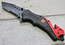 Rescue knife survival tourist Drop point Handle Messer Rettungs ALBAINOX