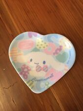 Sanrio Hello Kitty Cinnamoroll Mini Heart Collectors Plate Promo RARE
