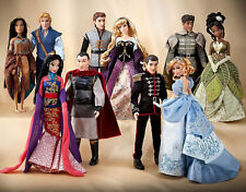 Limited Edition Disney Fairytale Designer Doll Collection Complete Set 5 Couples