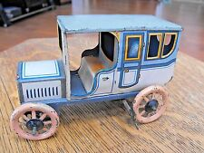 BING GBN SALOON CAR GERMANY c1912 TIN LITHO WIND UP WORKS VERY NICE!!