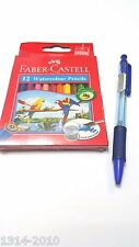 FABER-CASTELL 12 Watercolor Pencils for kids *Big Sales