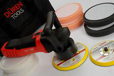 DUAL ACTION POLISHER BUFFER CAR MACHINE ELECTRIC SANDER DA KIT 150mm 240V DUREN