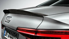 Genuine Audi New A4 B9 Saloon Carbon Rear Spoiler 2016