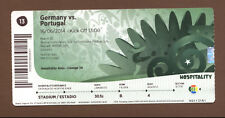 Orig.Ticket   World Cup BRAZIL 2014   GERMANY - PORTUGAL // match 13  !!  A