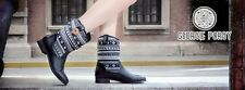 Brand New Women's Black Nepal Boots by Georgie Porgy shoes size 5 UK, EU 38