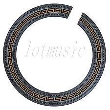 1pcs Acoustic Guitar Soundhole Rosette Body Project Wood Inlay