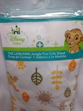 Disney Baby The Lion King Crib Sheet: Jungle Fun