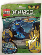 LEGO Ninjago 9553 Jay ZX Booster Pack blue ninja minifigure weapons cards NEW