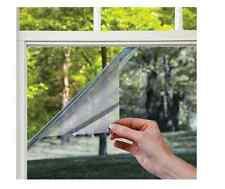 Window Film Privacy Cling Glass Residential Cover Mirror Static Glare Decorative