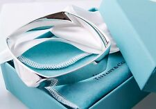 Fabulous Tiffany & Co. Frank Gehry Silver Torque Bangle Cuff Bracelet