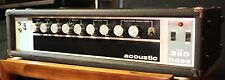 !DEMO VIDEO! VINTAGE WORKING Acoustic Control Corporation 360 Bass Head Pre Amp