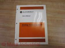 Allen Bradley 955100-95 User Manual For 1771-OF And 1771-E4 - New No Box