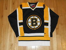VINTAGE 90's PRO PLAYER BYRON DAFOE BOSTON BRUINS YOUTH BOYS NHL TEAM JERSEY S/M