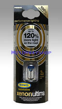 Ring Xenon Ultima H7 Headlight Bulbs 12v 55w 477 499 PAIR 120% More Light RW1277