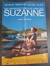 DIE UNERSCHÜTTERLICHE LIEBE DER SUZANNE - Filmplakat A1 - Sara Forestier