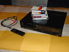 Sony SL-340 Betamax Video Recorder BII/III WORKS w REMOTE runs FAST AS IS