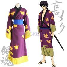 GINTAMA Takasugi Shinsuke kimono Cosplay Costume