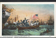 America Postcard - Battle of Lake Erie, Commodore Perry, Sept 10th 1813 - MB1773