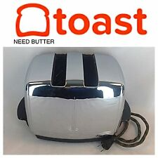 Beautiful 1950s T-20B SUNBEAM Radiant Control Toaster, Retro Era CHROME