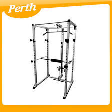 *** WA PICK UP *** Power Rack Squat Cage Stands with Lat Pulldown Home Gym