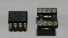 GENUINE Burr-Brown OPA2134PA OPA2134 Dual Opamp PDIP-8 + FREE Quality Socket