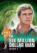 The Six Million Dollar Man: Season 3, DVD, New, Free Shipping