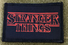 Stranger Things  Morale Patch Hand Printed in the USA! Netflix