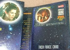 STAR WARS Tazos – complete set, AUTOGRAPHED