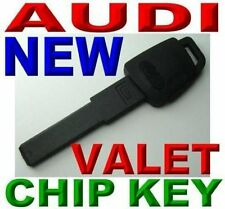 NEW EMERGENCY WALLET KEY FOR AUDI VALET  PLASTIC TRANSPONDER IMMOBILIZER CHIP