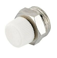 "1/2""  RADIATOR AIR VENT BLEED PLUG VALVE  - NO KEY NEEDED HIGH QUALITY"