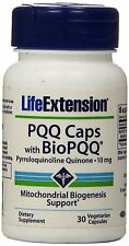 Life Extension PQQ Caps with Bio PQQ (10mg, 30 Vegetarian Capsules)