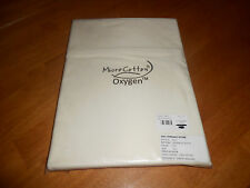 New The Company Store Style E5L5 Full Size Flat Sheet Ivory Micro Cotton Oxygen