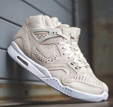 NIKE AIR TECH CHALLENGE II LASER Suede Leather Birch White Size UK 8 EU 42.5