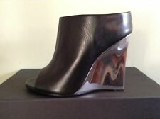 ALEXANDER MCQUEEN JAGUAR CALF LEATHER SANDAL SZ 36 UK 3 RRP £375 MADE IN ITALY