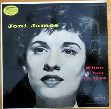 """Joni James """"When I Fall In Love"""" 1955 LP Vinyl Record MGM E3240 (Vintage)"""