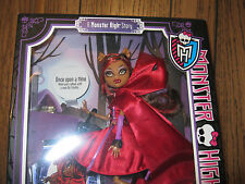 Monster High Scary Tales Clawdeen Wolf Little Dead Riding Wolf NIB