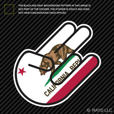 California Shocker Sticker Decal Self Adhesive Vinyl jdm euro republic cali