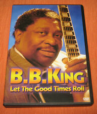 "B.B.King DVD "" LET THE GOOD TIMES ROLL "" Valgenti"