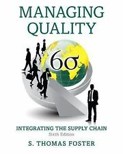 Managing Quality: Integrating the Supply Chain by S. Thomas Foster (2016,PDF)