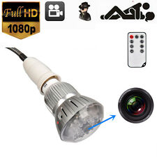WOW SPY HIDDEN LED Light Bulb Camera Mini DV Night Vision Voice Remote 720P FF1