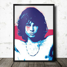 Jim Morrison Pop Art Poster Music The Doors 60's sixties psychedelic