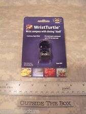 "Compass: WristTurtle Watchband Covered Hinged Shell, Fits 7/8"" wide, Sun Company"
